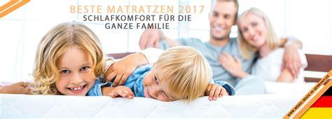 Stiftung Warentest Matratzen 2017