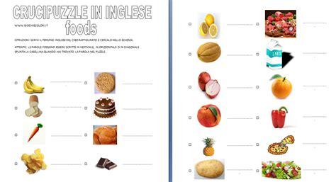 alimenti in tedesco disegni da colorare lezioni di inglese schede didattiche
