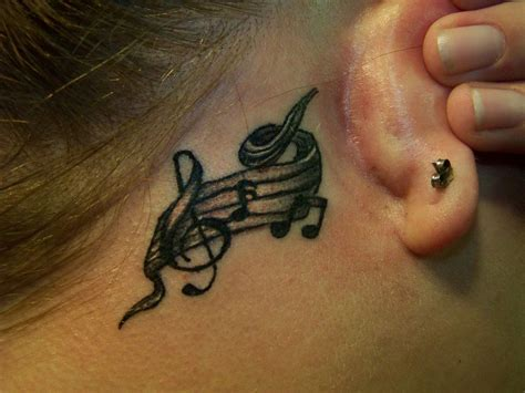 music note tattoo notes tattoos design guitar chord aguitarchords