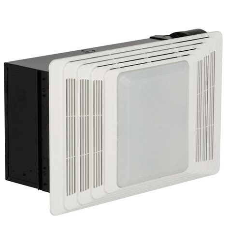 broan bathroom ceiling heater broan 70 cfm ceiling exhaust fan with light and heater 655