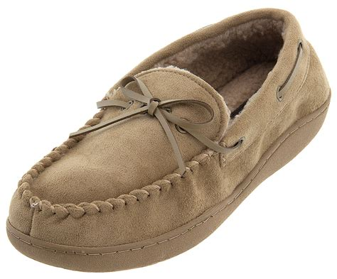 dockers moccasin slippers dockers micro suede moccasin slippers for