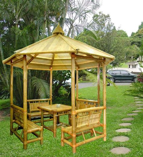 Bamboo Gazebo by Bamboo Gazebo Us 357 3 Unit Unique Collection