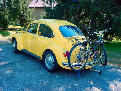Bike Rack For Vw Beetle by Thesamba Beetle Late Model 1968 Up View