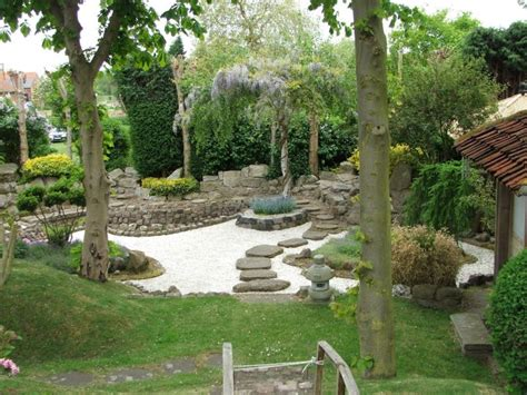 Landscape Ideas Japanese Garden Japanese Landscape Design With Sand Garden And Pathway