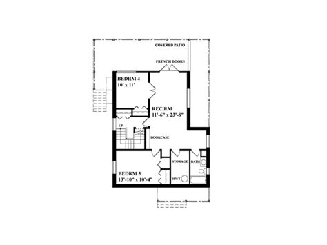 narrow lot house plans narrow lot home plan with