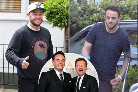 In Out Of Rehab In A Day by Troubled Ant Mcpartlin Gives A Winning Smile As He S