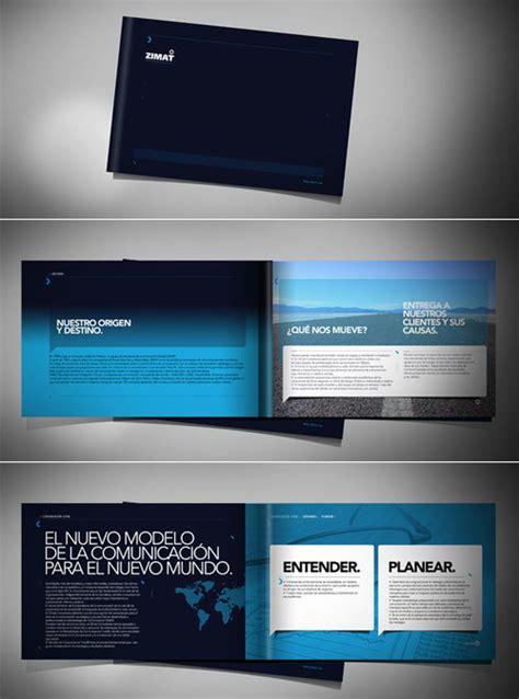 creative company profile layout 21 beautiful and creative brochure designs design swan