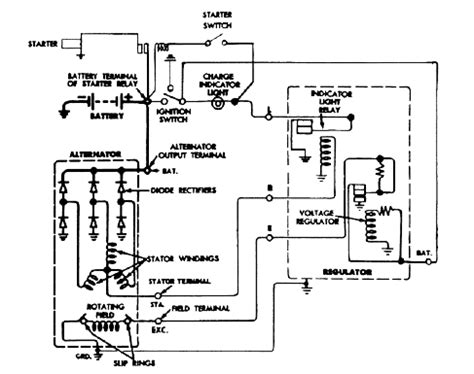 generator voltage regulator wiring diagram generator