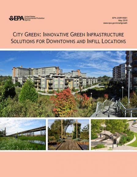 green infrastructure plan fuels smarter city green innovative green infrastructure solutions for downtowns and infill locations smart