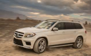Mercedes 550 Suv 2013 Mercedes Gl 550 4matic Front Three Quarter In