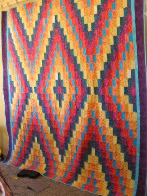 Navajo Quilts by 17 Best Images About Bargello Quilts On Twists