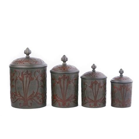 decorative kitchen canister sets 4 nouveau decorative canister set