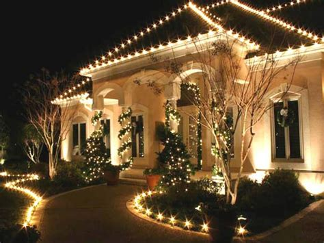 outdoor light decorations decorating the exterior tis the season chc glass
