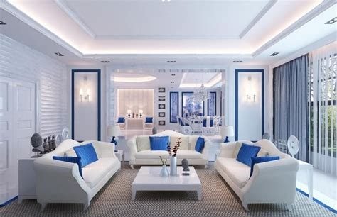 fashion simple blue living room interior design 3d light blue living room decorating ideas archives