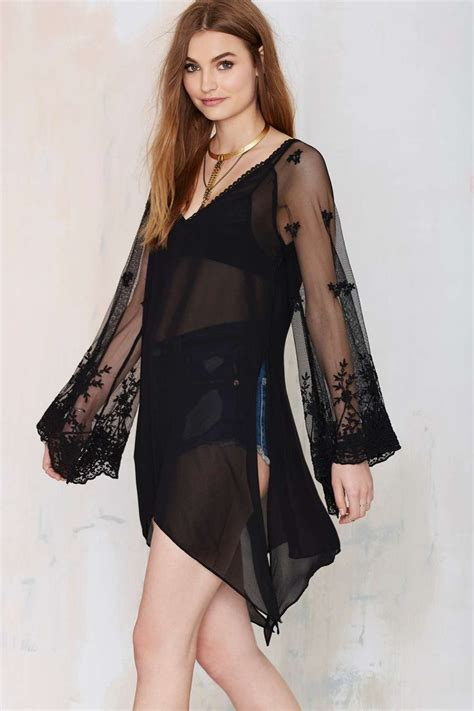 Blouse Semi Rajutrealpict Fashion bewitched semi sheer blouse