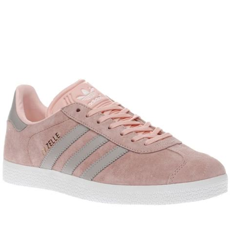 womens adidas pale pink gazelle suede trainers shoes suede trainers adidas adidas sneakers