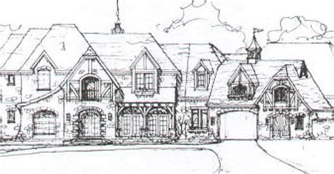 normandy manor house plan classic revival plans house plan 141 279 house plans pinterest house