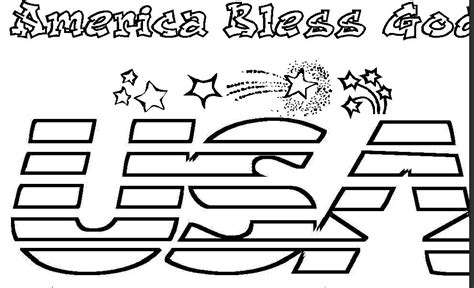 4th of july coloring pages blank 4th of july coloring