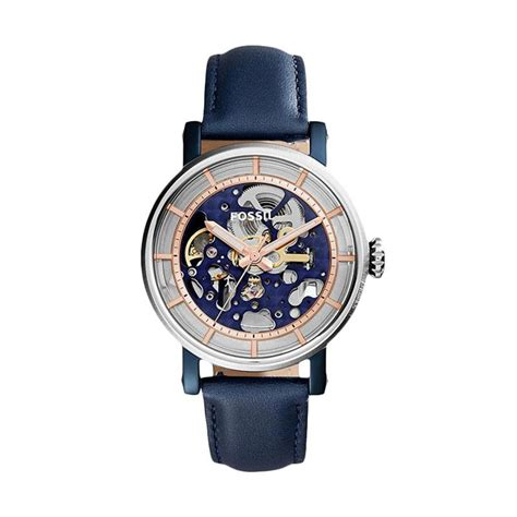Jam Tangan Fossil Cowok Bq1699 Original jual fossil original boyfriend me3136 skeleton automatic jam tangan pria blue
