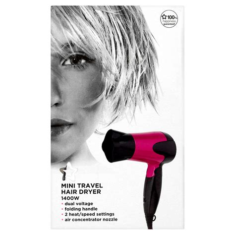 superdrug mini hair dryer md3903 420807 review