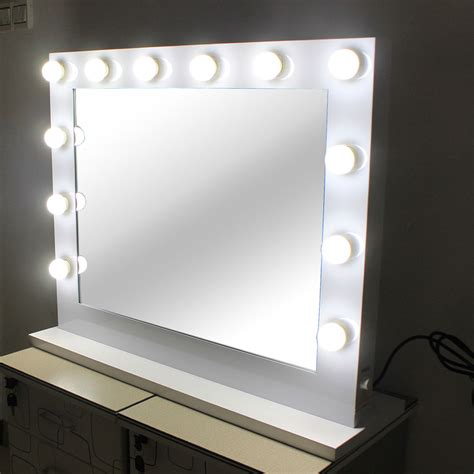 vanity mirror led light bulbs lighted makeup vanity mirror aluminum dimmer