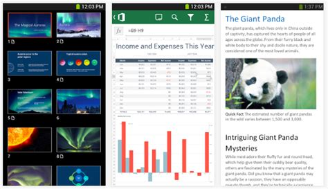 microsoft office mobile android microsoft office mobile na androida ju綣 w sklepie