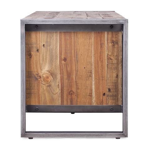 wood and metal tv stand 130 wood and metal kosyform tv stand