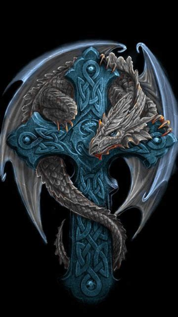 celtic cross dragon tattoo 55 cross tattoos designs and pictures