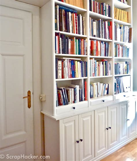 transform your ikea billy bookcase with these 11 diy