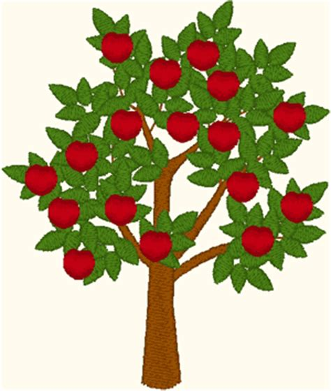 Home Design Software Download by Apple Tree Embroidery Design