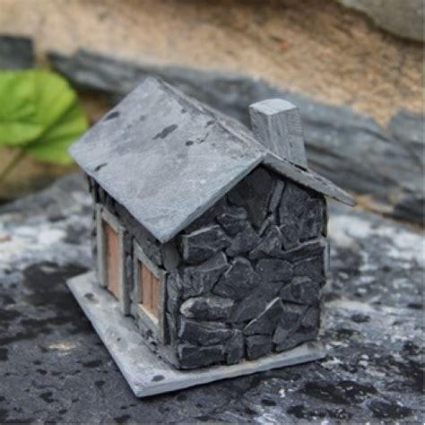casa in miniatura casa de xisto miniatura