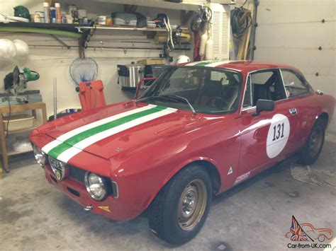 Vintage Alfa Romeo For Sale by Alfa Romeo Vintage Race Car For Sale Alfa Romeo Giulia Gt