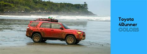4runner colors 2016 toyota 4runner exterior colors and accessories