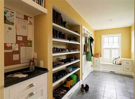 shoe storage for mudroom awesome mudroom design with shoe racks and clothes hangers