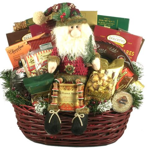deck the halls large christmas gift basket