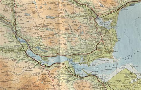 a map dornoch firth map