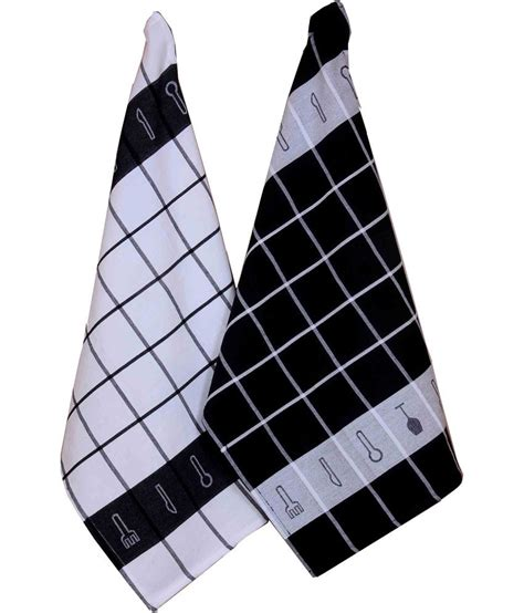Black Kitchen Towels by Home Colors Black Kitchen Towels Buy Home Colors Black Kitchen Towels At Low Price