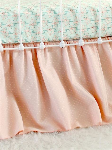 Lace Crib Skirt by Lace Overlay Crib Skirt Lottie Da Baby Baby