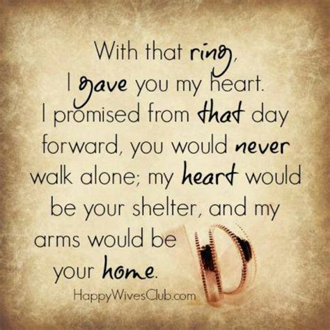 with that ring i promise shelters and vows