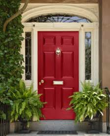 Red Front Entry Door » Home Design 2017