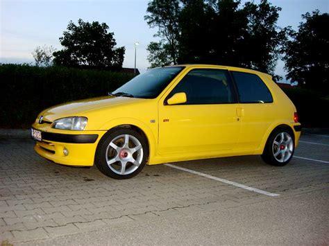 peugeot yellow steve s peugeot 106 s16 yellow 187 www s16 de