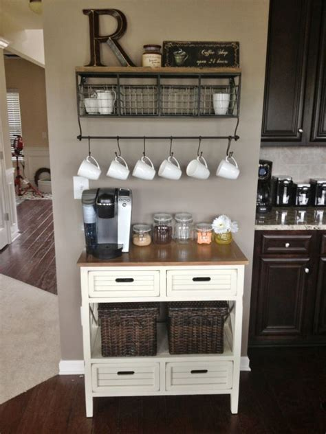 Rustic Coffee Mugs 24 Home Coffee And Tea Station D 233 Cor Ideas To Try
