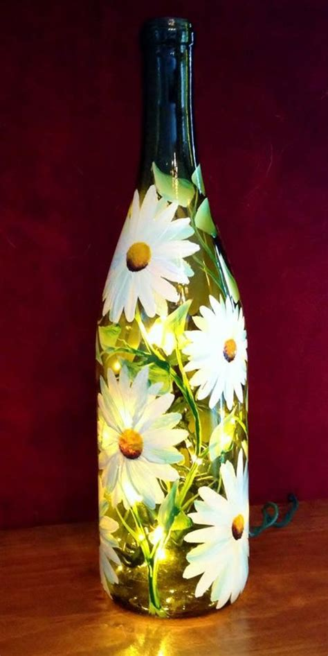 gallery for gt wine bottle and glass painting