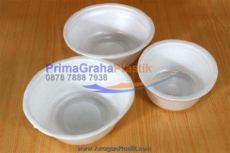 Mangkok Plastik Warna L mangkok styrofoam bowl styrofoam home