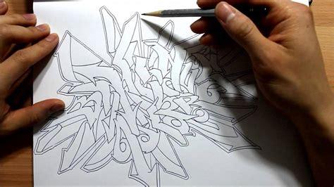draw graffiti wild style graphics graffiti