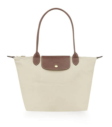 longch le pliage small shoulder bag in gray lyst