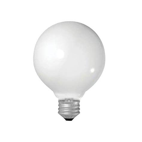 ge 25 watt incandescent g25 globe double life soft white
