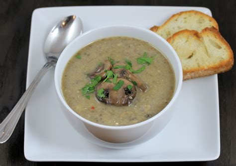 mushroom soup real mushroom soup with a touch of lemon tasteinspired s blog