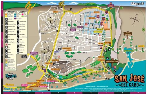 map of mexico cabo map of the city of san jose cabo travel