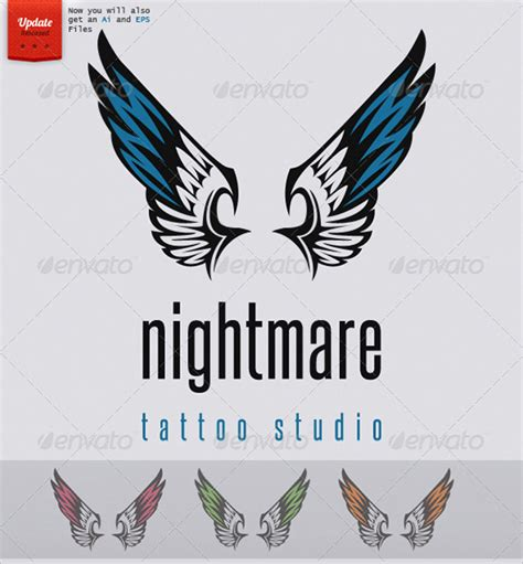 tattoo logo template sleeve tattoo design logo template psd vector